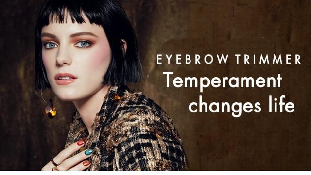 New Design Electric Eyebrow Trimmer Makeup Painless Eye Brow Epilator Mini Shaver Razors Portable Facial Hair Remover for Women