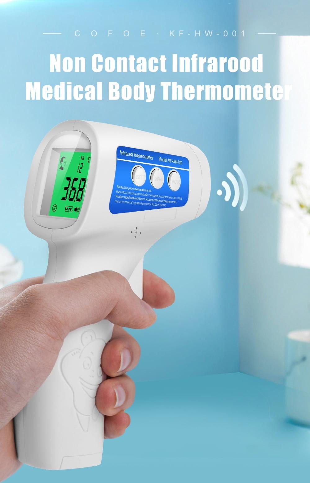 Forehead Thermometer Non Contact Body Temperature